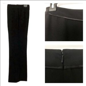 Precis (10P) Petite Black Pants w/satin edge !!